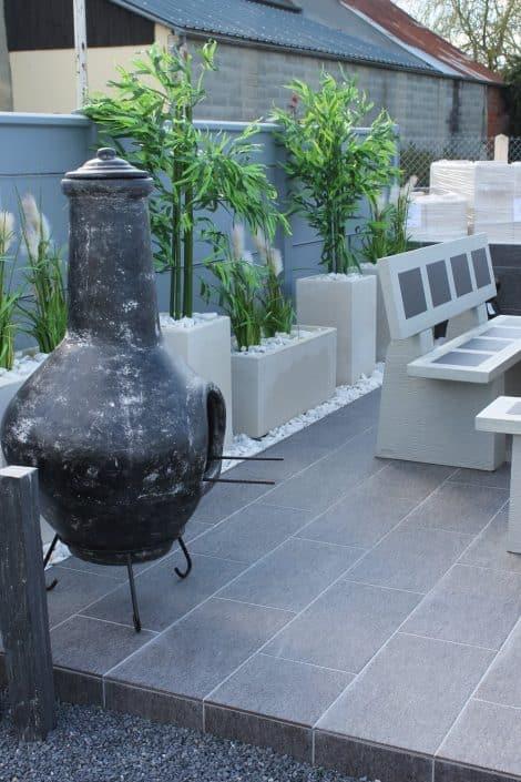 Poterie des vieux fours d corations normandie - Decoration jardin barbecue ...