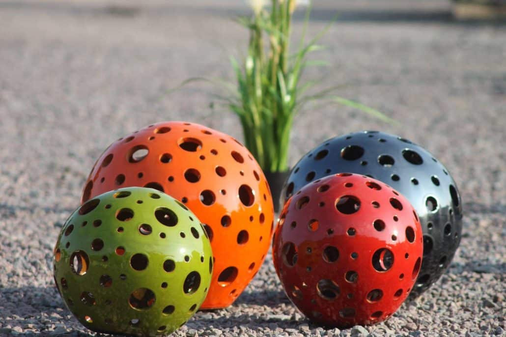 Poterie des vieux fours d corations normandie for Boule ceramique decoration jardin terrasse maison